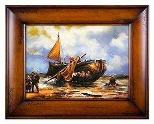 """Obraz """"Marynistyka"""" ręcznie malowany 87x117cm"""