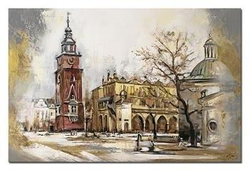 """Obraz """"NOWOŚCI"""" ręcznie malowany 60x90cm"""
