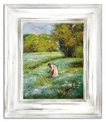 """Obraz """"NOWOŚCI"""" ręcznie malowany 66x76cm"""