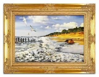 Obraz - Pejzaz tradycyjny - olejny, ręcznie malowany 90x120cm
