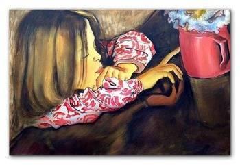 Obraz - Stanisław Wyspiański - olejny, ręcznie malowany 60x90cm