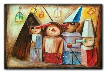 Obraz - Tadeusz Makowski - olejny, ręcznie malowany 50x70cm