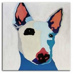 """Obraz """"Zwierzęta"""" ręcznie malowany 100x100"""