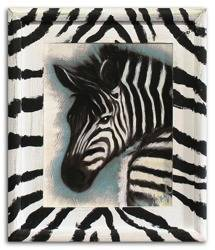 """Obraz """"Zwierzęta"""" ręcznie malowany 27x32cm"""