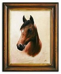 """Obraz """"Zwierzęta"""" ręcznie malowany 37x47cm"""