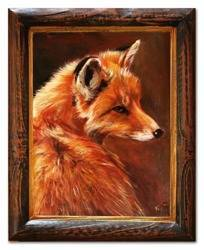 """Obraz """"Zwierzęta"""" ręcznie malowany 38x48cm"""