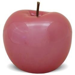 Ozdoba Jabłko ceramika kolor czerwony wys.13cm