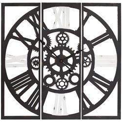 Zegar ścienny ozdobny klasyczny metal