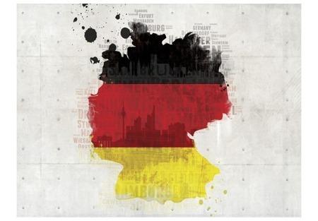 Fototapeta - Barwy narodowe Niemiec