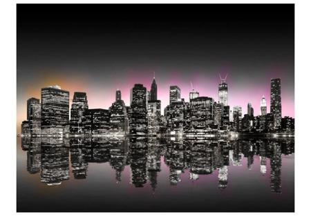 Fototapeta - Colorful glow over NYC