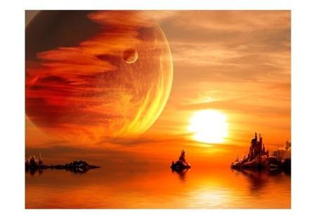 Fototapeta - Fantasy sunset