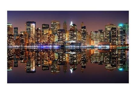 Fototapeta - Gold reflections - NYC