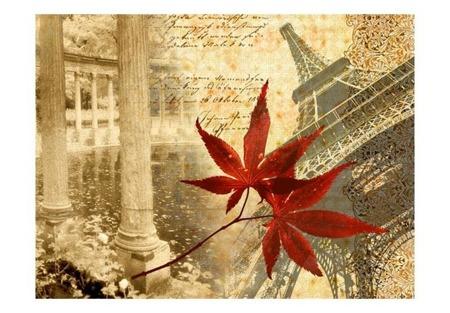 Fototapeta - Jesień i Paryż