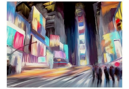 Fototapeta - Nowy Jork, dynamika i kolory