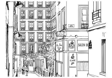 Fototapeta - Spacer paryskimi uliczkami
