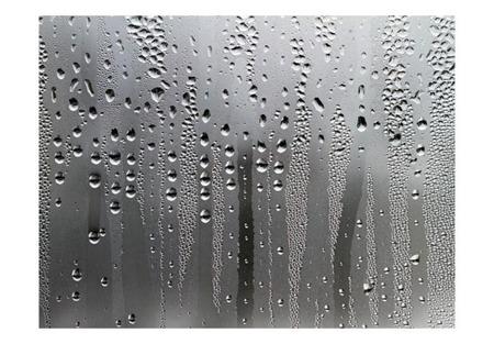 Fototapeta - Szyba i deszcz