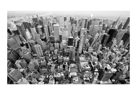 Fototapeta - USA, Nowy Jork: czarno-biały