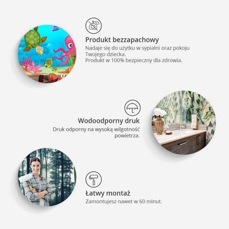 Fototapeta - Zafarbowany świat
