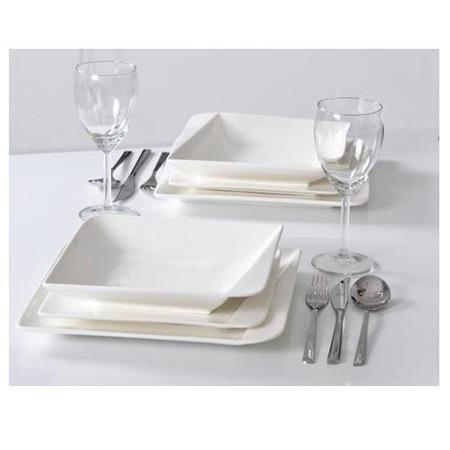 Komplet obiadowy 18 elementów Quarte Home Delux