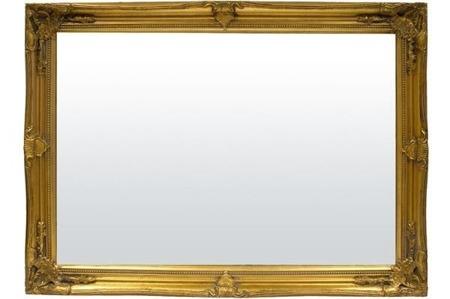 Stylowa Rama lustro złoto