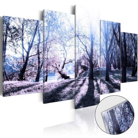 Obraz na szkle akrylowym - Jesienna polanka [Glass]